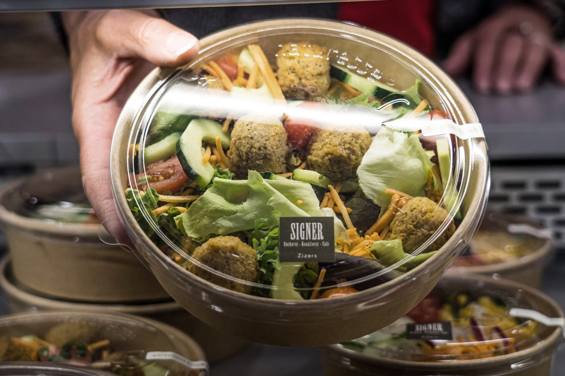 Salat Bäckerei Signer